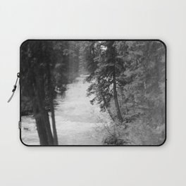 Crashing Through Trees Laptop Sleeve