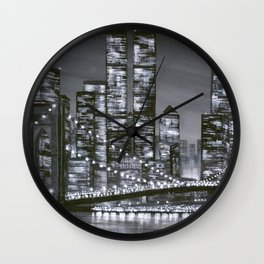 City of Yesterday Wall Clock
