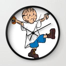 FREE CAILLOU Wall Clock