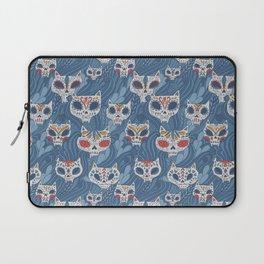 Calavera Cats Laptop Sleeve