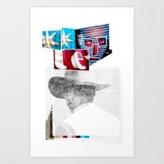ROUGHCUT#11032015 Art Print