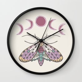 Gypsy Wings Wall Clock