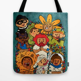 Candy Monsters Tote Bag