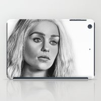 daenerys iPad Cases featuring Daenerys Targaryen by Mutemouia