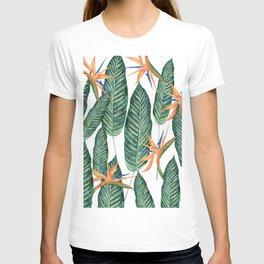 Banana And Flowers #society6 T-shirt
