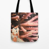 aquarius Tote Bags featuring Aquarius by Djuno Tomsni