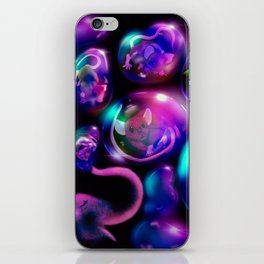 Blowing Bubbles iPhone Skin