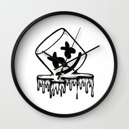 melt mello Wall Clock