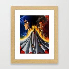Gemini Saga Framed Art Print