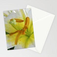 lily macro XIV Stationery Cards
