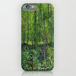 Vincent Van Gogh Trees & Underwood iPhone Case