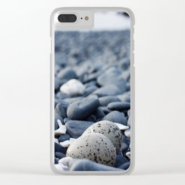 Oyster Catcher Nest Clear iPhone Case