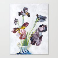 german Canvas Prints featuring German Iris by Shinichi Imanaka