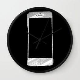 iPhone 5 Wolfram Rule 126 Part 2 Wall Clock
