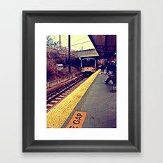 Here We Go Framed Art Print