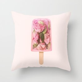 FLORAL POPSICLE Throw Pillow