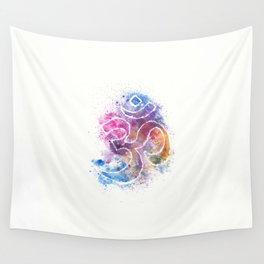 OM Symbol Watercolor Art Wall Tapestry