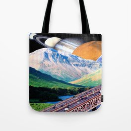 On the Mountain Way Tote Bag
