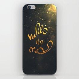 adele hello iPhone Skin
