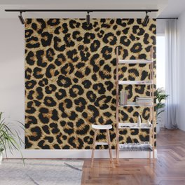 ReAL LeOparD Wall Mural
