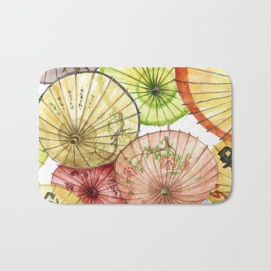 Paper Umbrellas Bath Mat