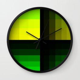 The Greeneries Wall Clock