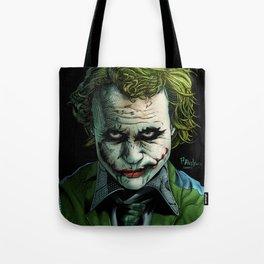 Heath Ledger Joker Tote Bag