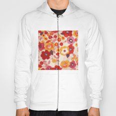 Cross Stitch Flowers Hoody
