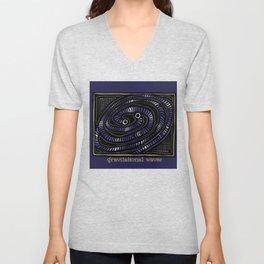 Gravitational Waves Unisex V-Neck