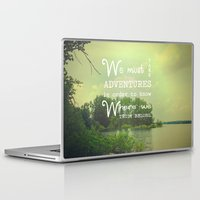 adventure Laptop & iPad Skins featuring Adventure by Olivia Joy St.Claire - Modern Nature / T