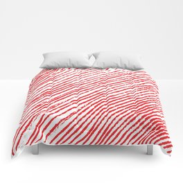 Candy Cane (The raw version) - Christmas Illustration Comforters