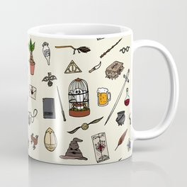 Harry Pattern Coffee Mug