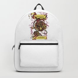 Rose - GROWING STRONG Backpack