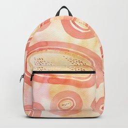 Pink Watercolor Microcosm Backpack