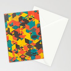Panelscape: colours from Space Filler Stationery Cards