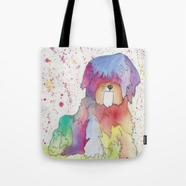 Pastel The Rainbow Pup Tote Bag