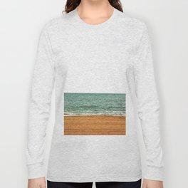 down by the sea - seaside - artprint Long Sleeve T-shirt