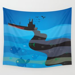 go humans! Wall Tapestry