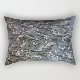 Arcade Carpet #2 - Water Rectangular Pillow