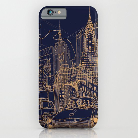 New York! Night iPhone & iPod Case