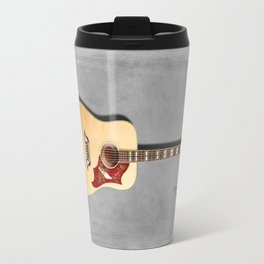 Dove Acoustic Guitar 1960 Travel Mug