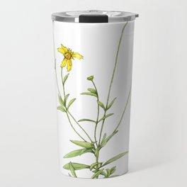 Coreopsis Wildflowers Travel Mug