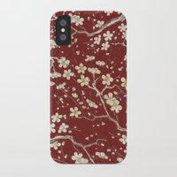 sakura iPhone & iPod Cases featuring Sakura by Paula Belle Flores