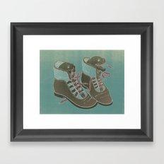 Moray Heels Framed Art Print