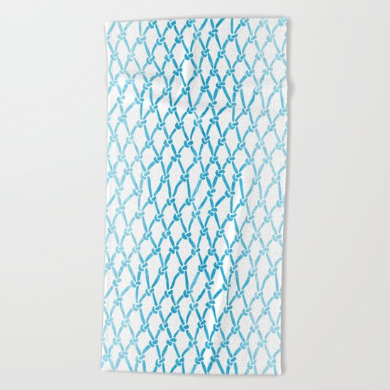 Net Water Beach Towel