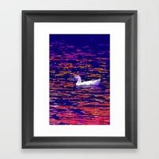 Radiant Quack  Framed Art Print