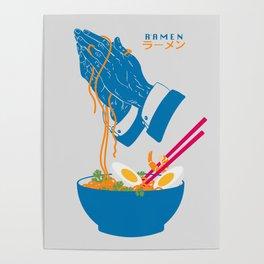 Delicious Daily Ramen Poster