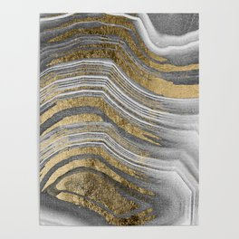 Abstract paint modern Poster