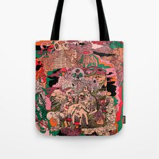 Village of Forest Tote Bag
