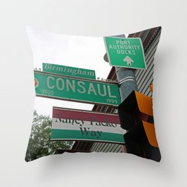 Consaul Corner Throw Pillow
